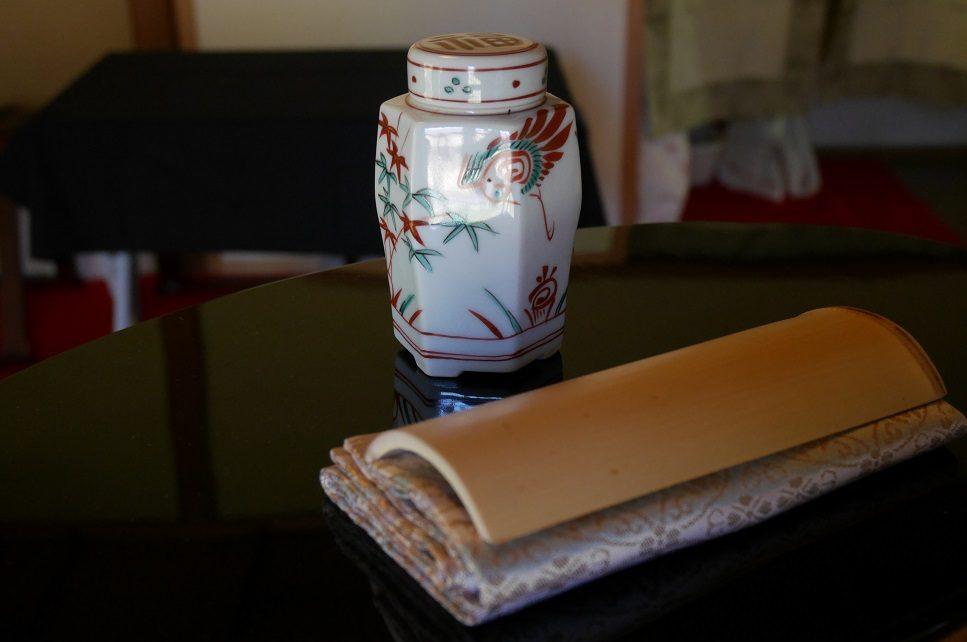 六角式茶心壺
