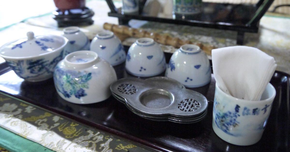 煎茶席(玉露)