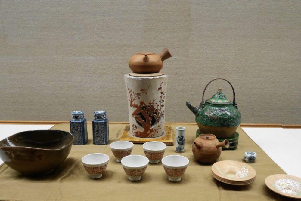青木木米の煎茶具一式(江戸時代・19世紀)
