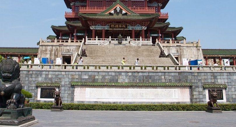 中国の影壁