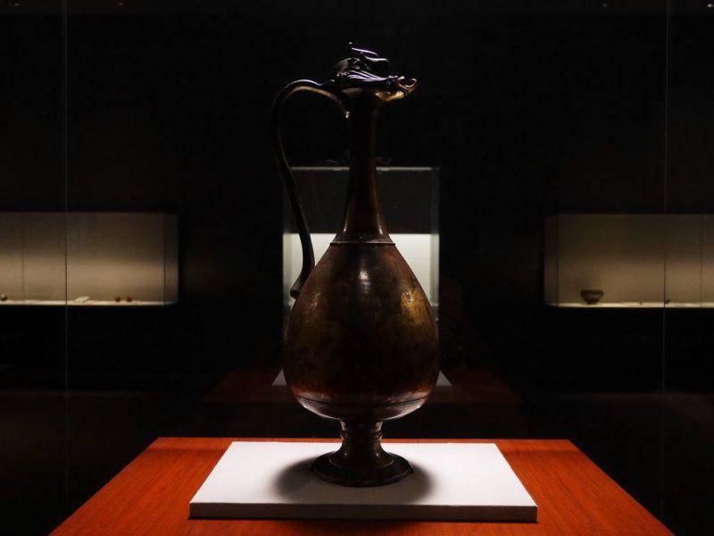 国宝「龍首水瓶」(飛鳥時代、東京国立博物館 蔵)