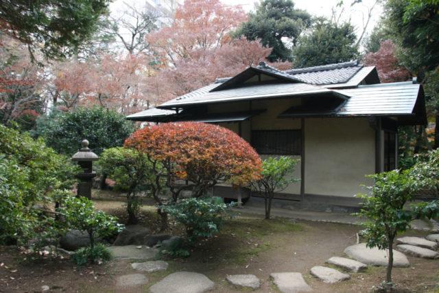 旧古河邸庭園の茶室