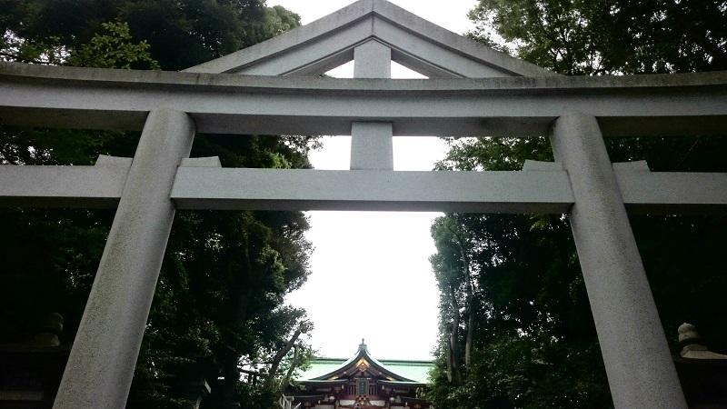 日枝神社 山王鳥居
