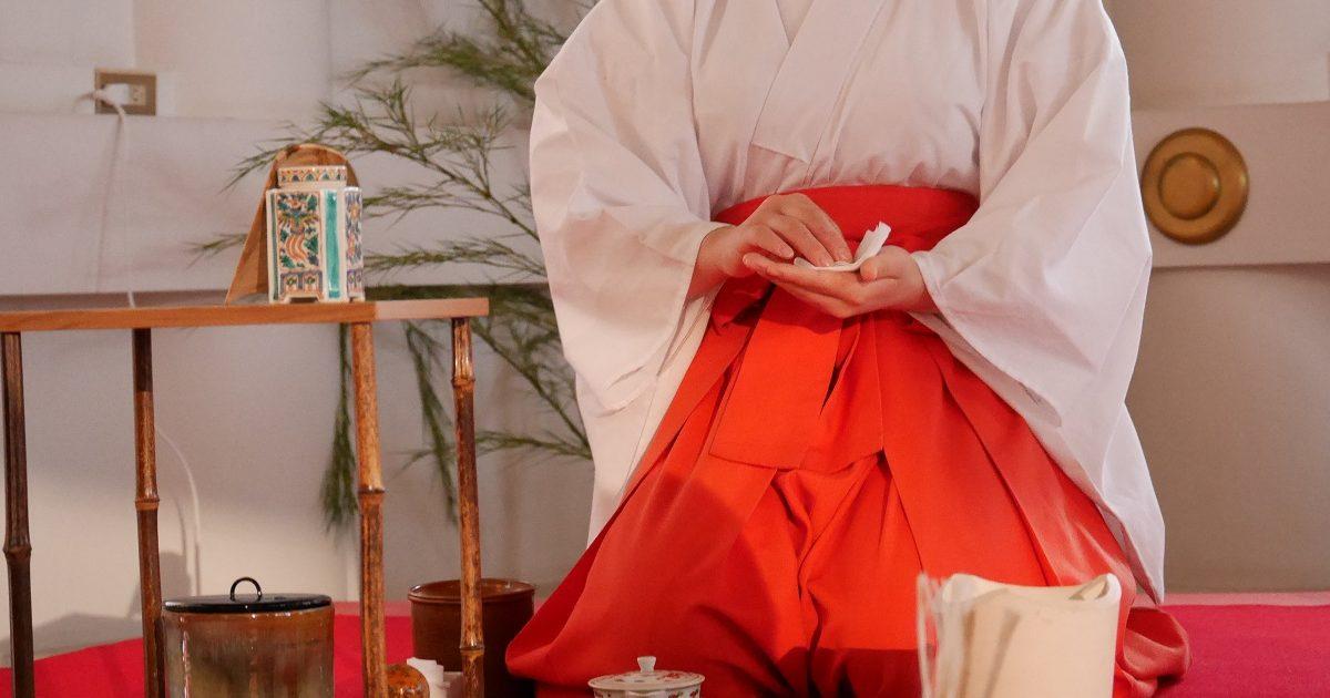 山王祭_煎茶礼道日泉流献茶式