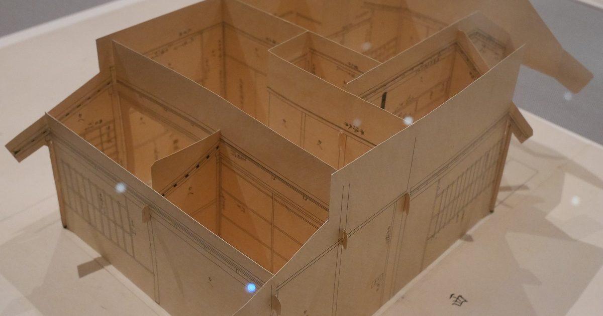 江戸時代の茶室起こし絵図