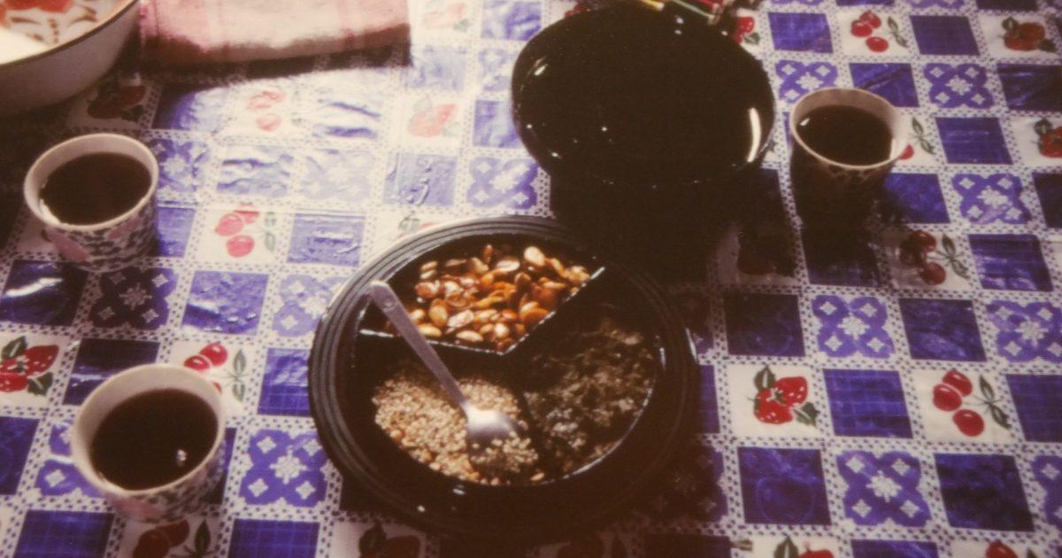 ミャンマーの漬物茶「ラペソー」