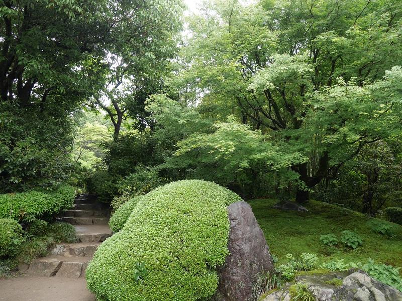 詩仙堂の唐様庭園