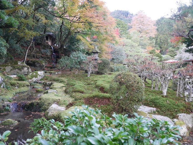 旧竹林院_八王子山の借景
