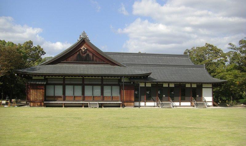 大阪城 西の丸庭園にある「大阪迎賓館」