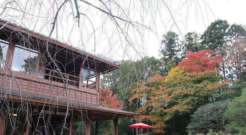 旧竹林院の母屋