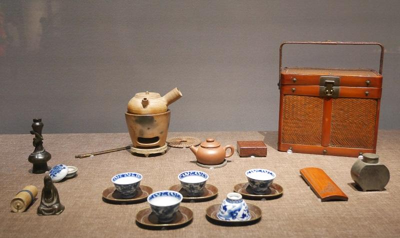 明治時代の煎茶道具一式
