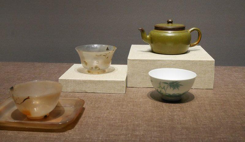 清・雍正帝時代の茶器