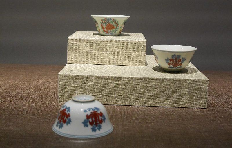 明代の茶碗