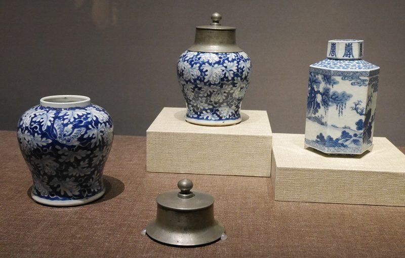 清時代の茶壺