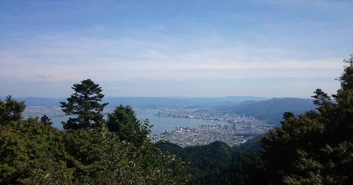 琵琶湖@滋賀県